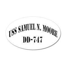 USS SAMUEL N. MOORE Wall Decal