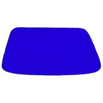 Solid Cobalt Blue Bathmat