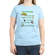 Nosework Dogs Working T-Shirt