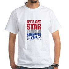 Lets Get Star Spangled Hammered Yall T-Shirt