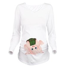 Douglas Baby Long Sleeve Maternity T-Shirt