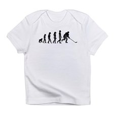 Distressed Hockey Evolution Infant T-Shirt