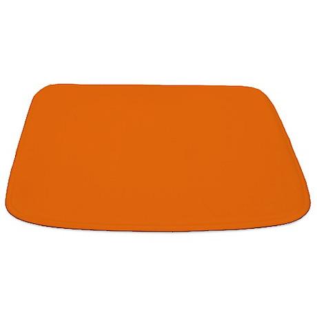 Solid Pumpkin Bathmat