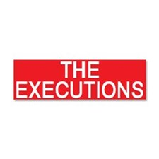 stop the executions Car Magnet 10 x 3