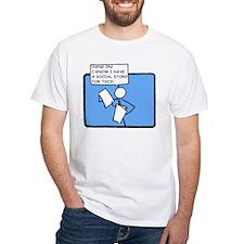 Hang On! (Social Story) T-Shirt