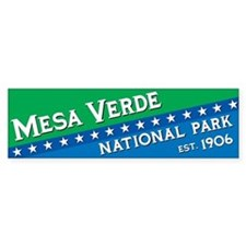 Mesa Verde National Park Bumper Bumper Sticker