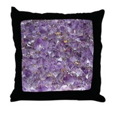 Unique Crystal Throw Pillow