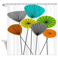 Seed Pods LARGE Shower Curtain