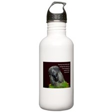 Senegal with Quote Water Bottle