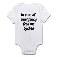Feed me Lychee Infant Bodysuit