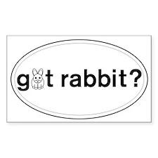 Funny Rabbit Decal