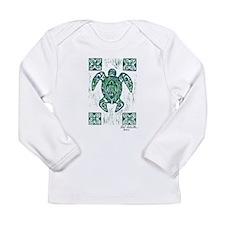 Honu Print Long Sleeve T-Shirt
