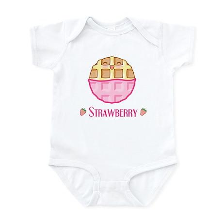 Strawberry Waffle Infant Bodysuit