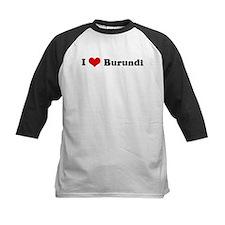 I Love Burundi Tee