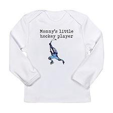 Mommys Little Hockey Player Long Sleeve T-Shirt