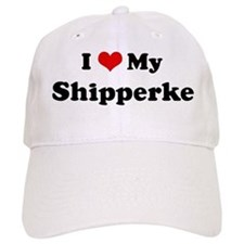 I Love Shipperke Baseball Cap