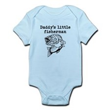 Daddys Little Fisherman Body Suit