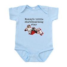 Mommys Little Skateboarding Star Body Suit