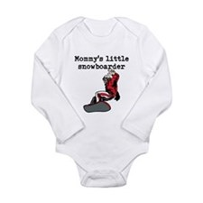 Mommys Little Snowboarder Body Suit