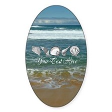 Original Seashell Customizable Art Decal