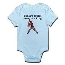 Daddys Little Home Run King Body Suit