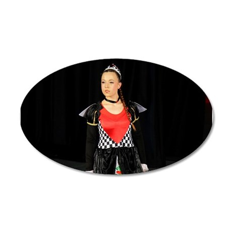 Queen Of Hearts Wall Sticker