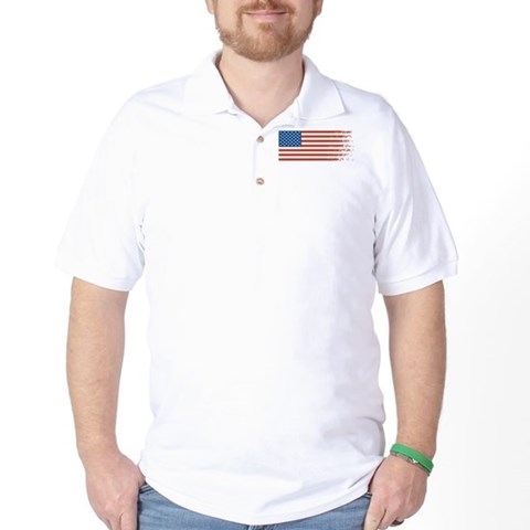 American Flag Graffiti 4th of July T-Shirt