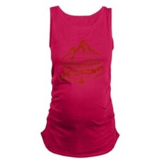 Whistler Mountain Vintage Maternity Tank Top