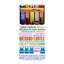 Richard Castle Beach Towel