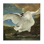 The Threatend Swan, Jan Asselijn Tile Coaster