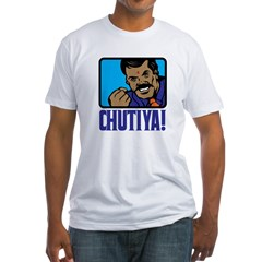 Chutiya! Fitted T-Shirt