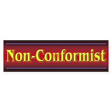 Non-Conformist Bumper Stickers