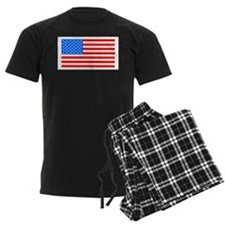 American Flag 4th Of July Pie Pajamas