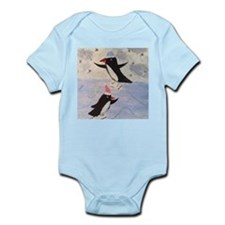 Skating penguins Body Suit