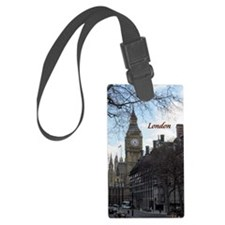 Cute Britain Luggage Tag