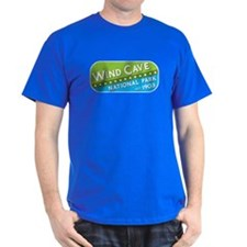 Wind Cave National Park (green/blue) T-Shirt