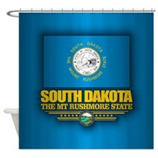 South Dakota Shower Curtain