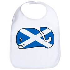 Scottish Whale Bib