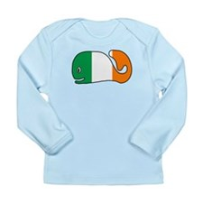 Irish Whale Long Sleeve Infant T-Shirt
