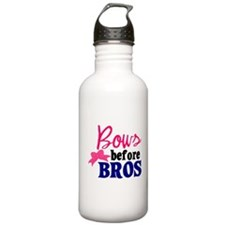 Bows Before Bros Water Bottle