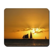 Sunset Sail Mousepad