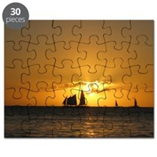 Sunset Sail Puzzle