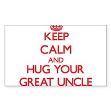 Keep Calm and HUG your Great Uncle Decal
