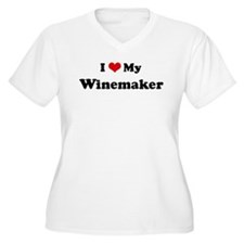 I Love Winemaker T-Shirt