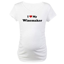 I Love Winemaker Shirt