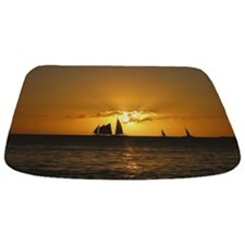 Cute Sailboats Bathmat