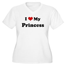 I Love Princess T-Shirt