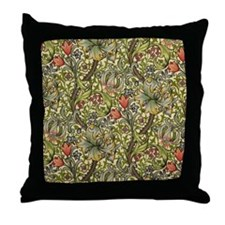 William Morris Golden Lily Throw Pillow