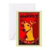 Whippet! Greeting Cards (Pk of 10)