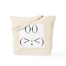 Angry Rabbit Tote Bag